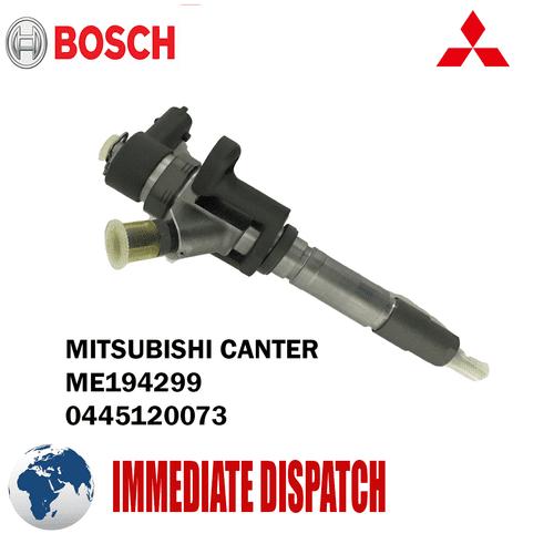 Mitsubishi Canter 3.0 2006 Onwards Genuine Bosch Diesel Injector - 0445120073